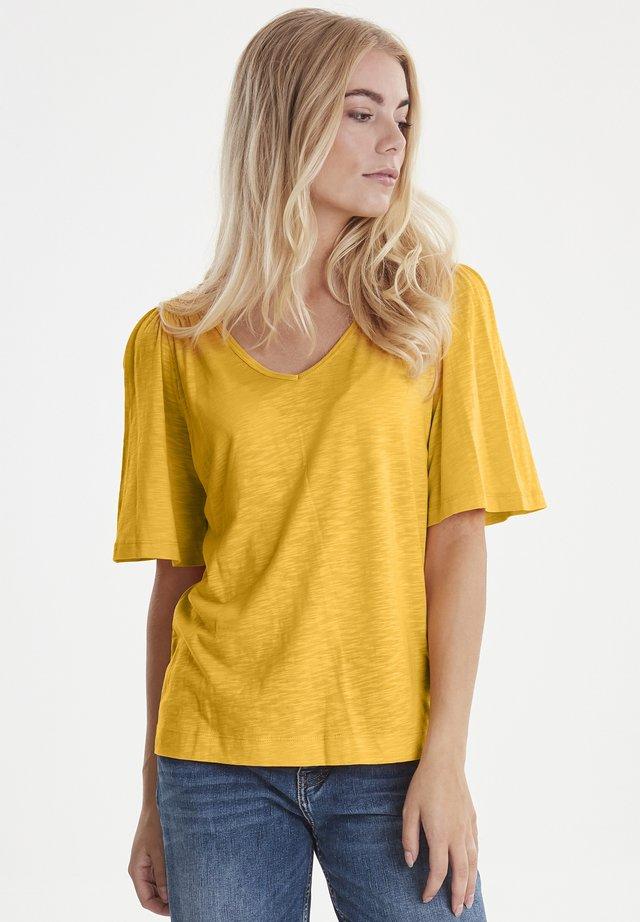 PZLERCHE - T-paita - dark yellow
