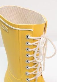 Viking - RETRO LIGHT - Holínky - yellow - 5
