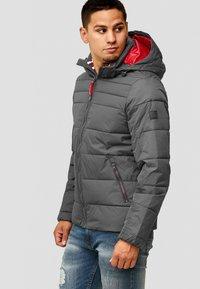 INDICODE JEANS - PHILPOT - Winter jacket - dark grey - 4