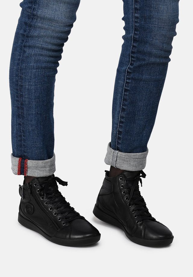 PALME - Sneakers alte - black