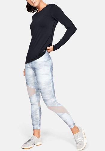 UA ARMOUR LONG SLEEVE - T-shirt à manches longues - black