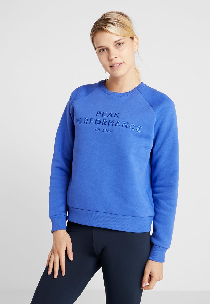 Peak Performance - ORIGINAL - Sweatshirt - bay blue