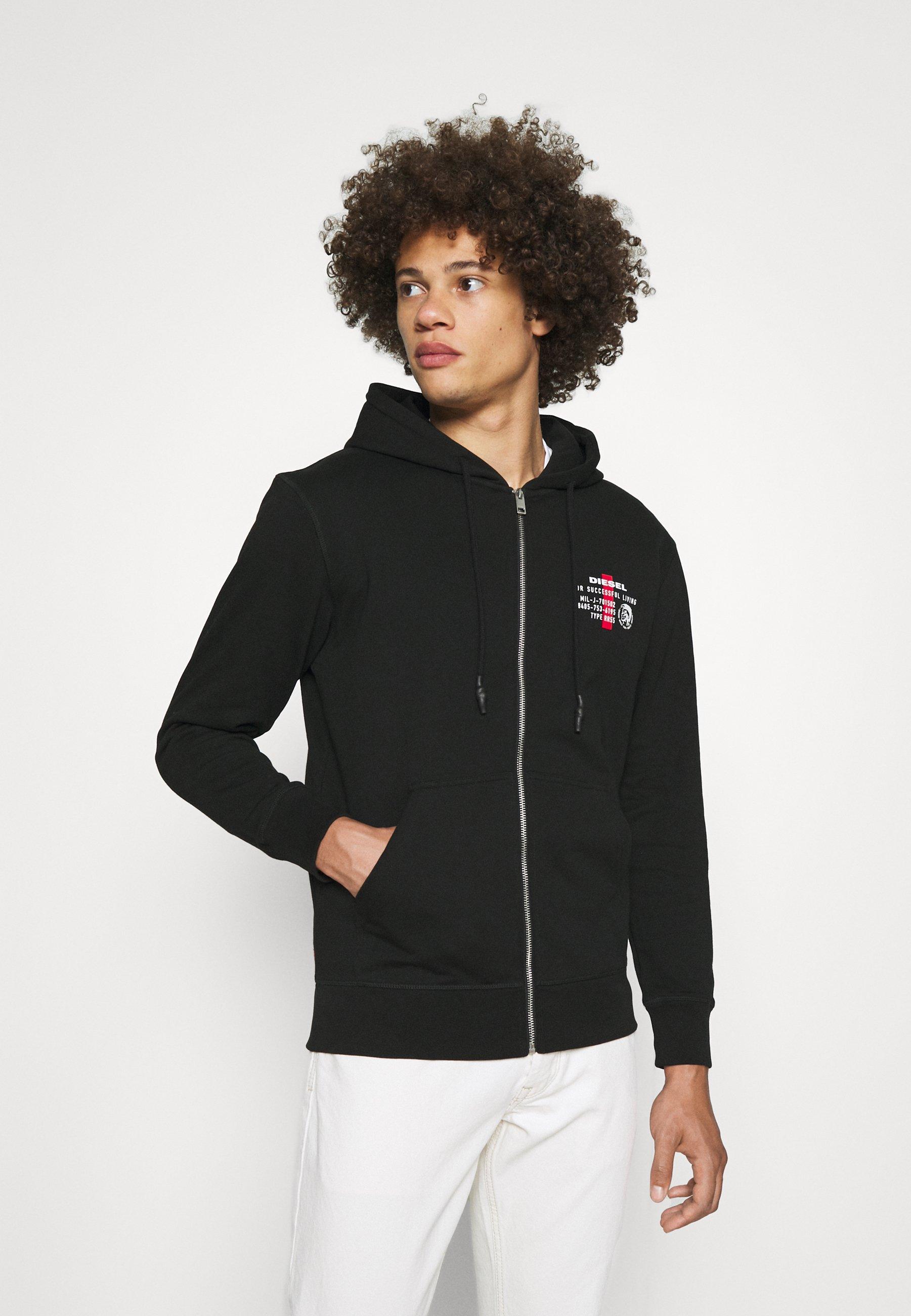 Men BRANDON - Zip-up sweatshirt