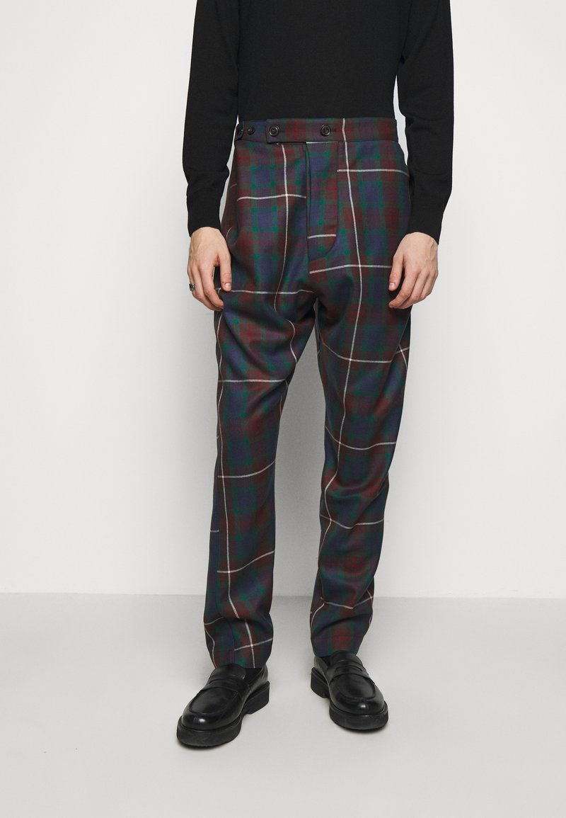 Vivienne Westwood - ALCOHOLIC TROUSERS - Trousers - brown