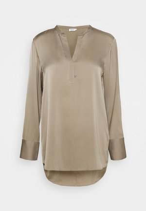 PULL-ON BLOUSE - Blůza - grey taupe