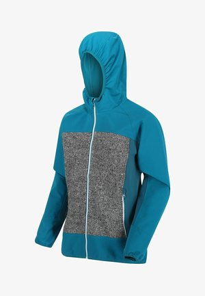 Soft shell jacket - oceandpt ash