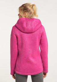Schmuddelwedda - Winter jacket - pink melange - 2