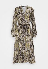 Vila - VIJEMO MIDI DRESS - Day dress - birch/kallia - 5