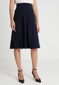 Anna Field - Áčková sukně - maritime blue - 0
