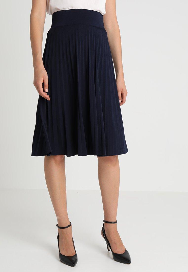 Anna Field - Áčková sukně - maritime blue