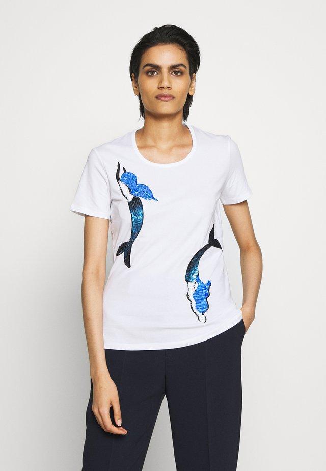 FARNESE - T-shirt imprimé - weiß
