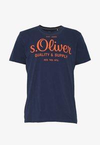 s.Oliver - Print T-shirt - blue - 3