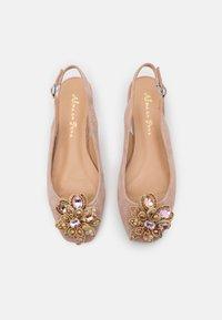 Alma en Pena - Ballerina's met enkelbandjes - old pink - 5