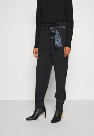 CHARLOTTE - Trousers - black