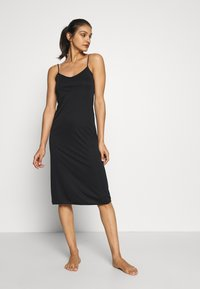 Marks & Spencer London - FULL SLIPS 2 PACK - Nightie - black mix - 1