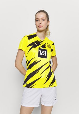 BVB BORUSSIA DORTMUND HOME REPLICA WOMEN - Club wear - cyber yellow/black