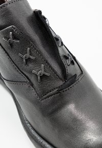 MJUS - Šněrovací boty - gunmetal - 2