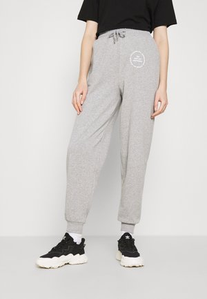 JOGGER WITH GRAPHIC - Tracksuit bottoms - grey