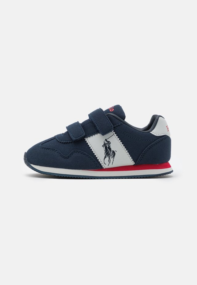 BIG PONY JOGGER UNISEX - Sneakersy niskie - navy/grey/red