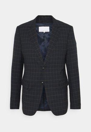 CHECKED SUIT - Blazer jacket - navy blazer