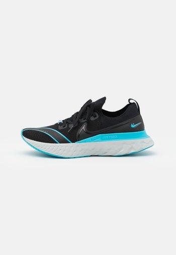 REACT INFINITY RUN - Neutral running shoes - black/photon dust/blue fury