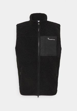 ELM VEST - Waistcoat - black jet