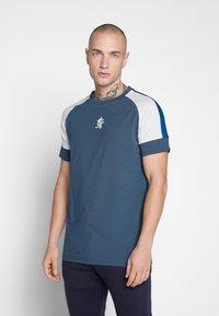 Gym King - CORE PLUS  - Camiseta estampada - bearing sea - 0