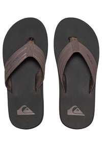 Quiksilver - MONKEY WRENCH  - Mules - brown/black/brown - 1