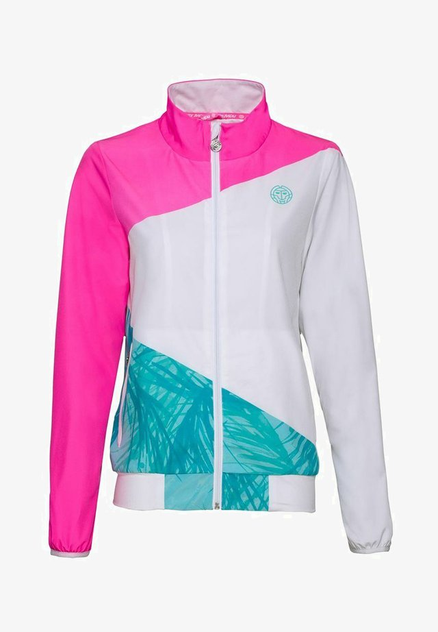 PIPER TECH - Training jacket - pink/white/mint