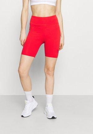 LOGO SHORT  - Tights - poppy red