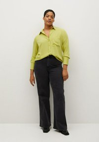 Violeta by Mango - SEDI - Button-down blouse - limette - 1