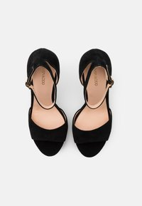 Even&Odd - LEATHER - High heeled sandals - black - 5