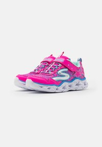 Skechers - GALAXY LIGHTS - Tenisky - neon/pink/multicolor - 1