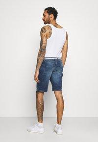 Redefined Rebel - SYDNEY TERRY - Denim shorts - hard blue - 2