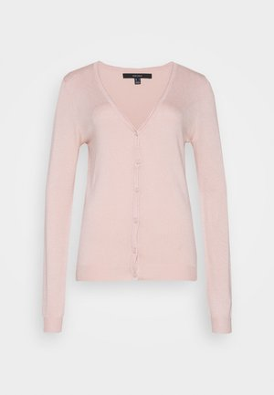 VMNELLIE GLORY V NECK CARDIGAN - Cardigan - sepia rose