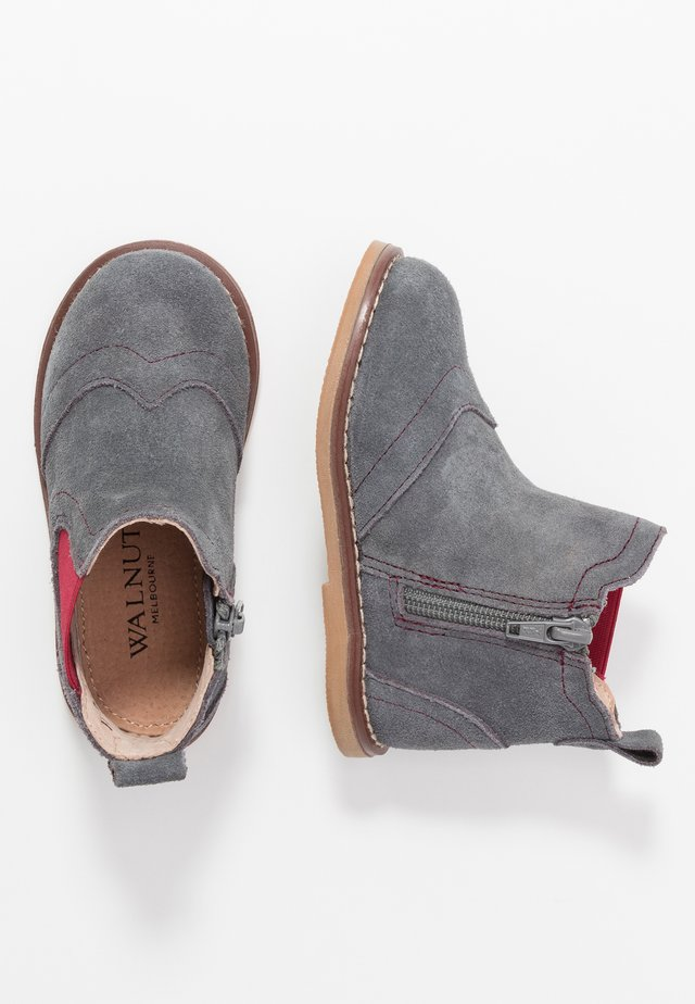 BURROW BOOT - Korte laarzen - charcoal