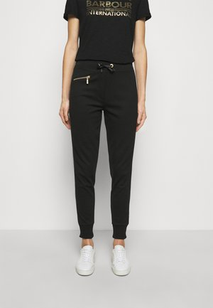 BURNOUT TROUSER - Tracksuit bottoms - black