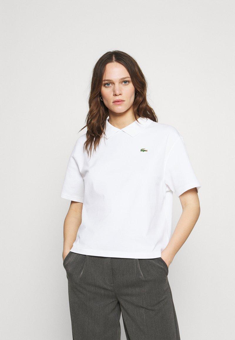 Lacoste LIVE - Print T-shirt - white