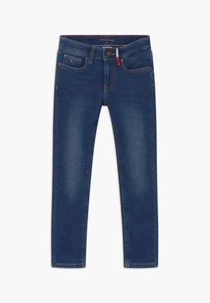 SCANTON BRUSHED - Vaqueros slim fit - blue denim