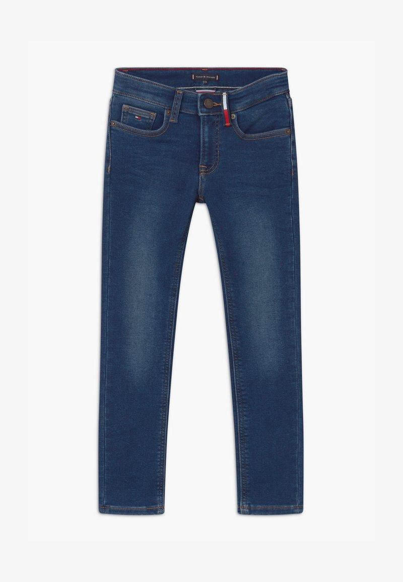 Tommy Hilfiger - SCANTON BRUSHED - Slim fit jeans - blue denim