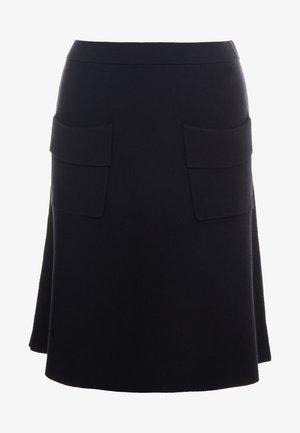 POCKET SKIRT - A-line skirt - black