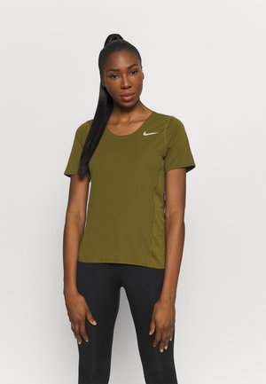CITY SLEEK - Camiseta estampada - olive flak