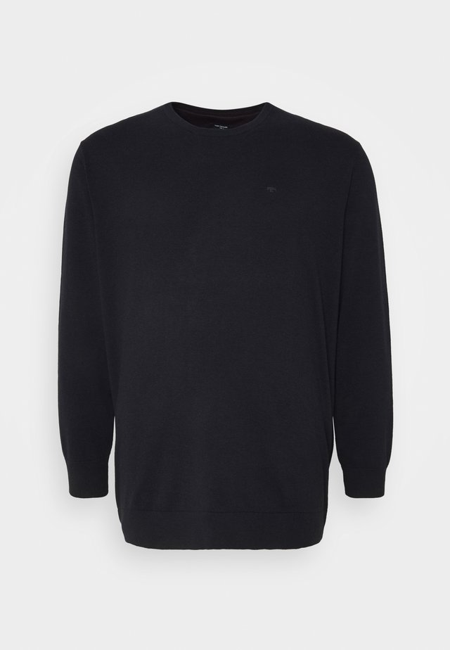 Pullover - navy melange