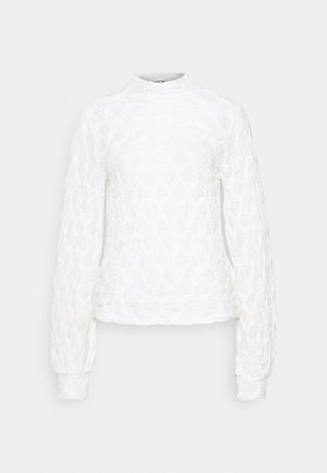 MALECA - Long sleeved top - bright white