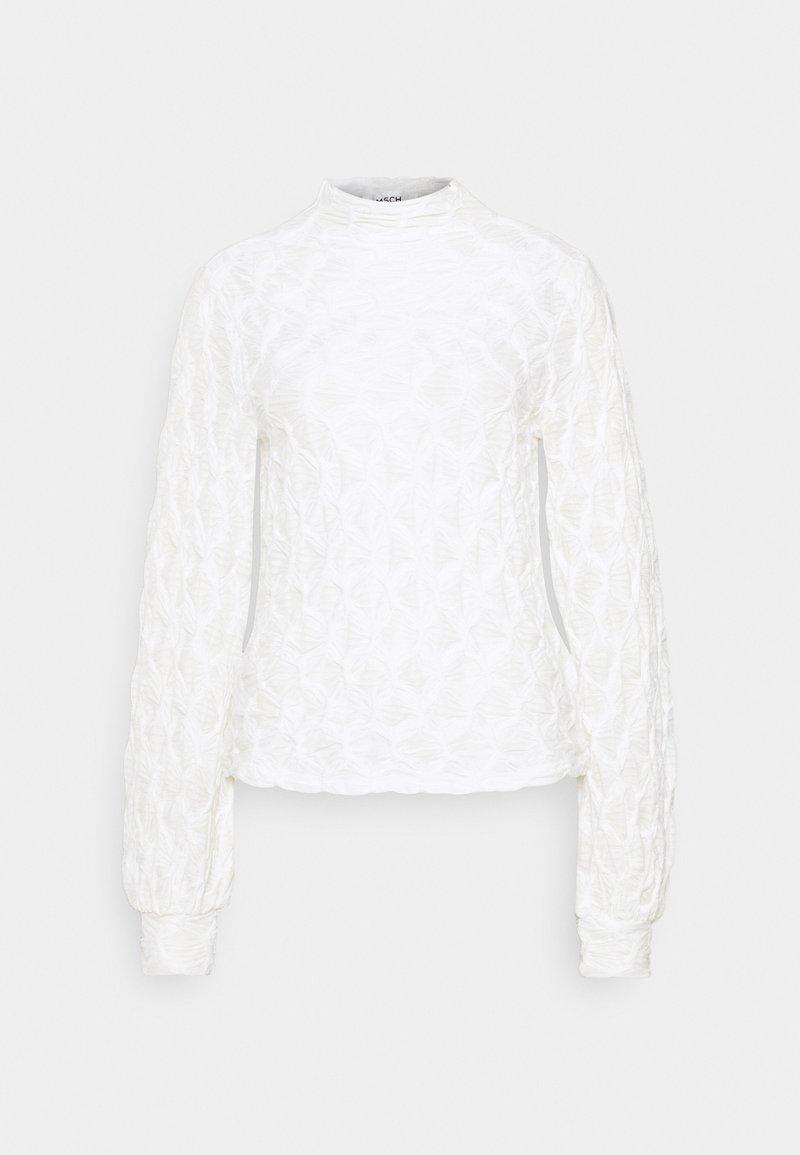Moss Copenhagen - MALECA - Long sleeved top - bright white
