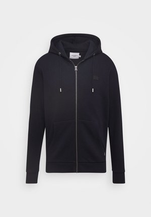 CLINTON ZIPPER HOODIE - Mikina na zip - dark navy/black