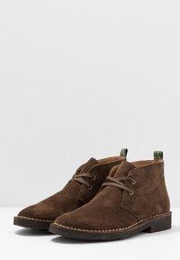 Polo Ralph Lauren - TALAN CHUKKA BOOTS CASUAL - Zapatos con cordones - chocolate brown - 2