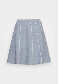 sandro - Mini skirt - bleu ciel - 0