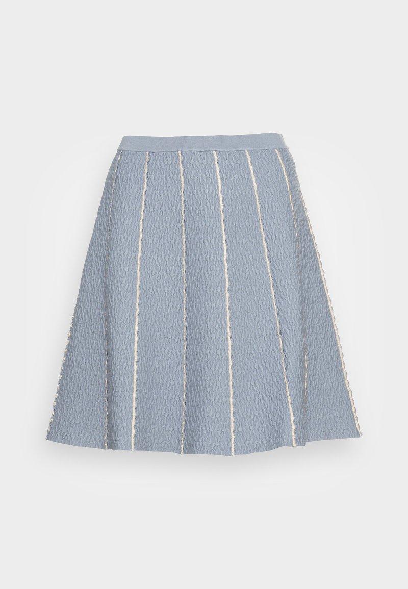 sandro - Mini skirt - bleu ciel