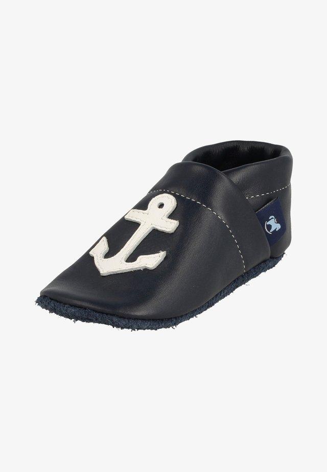First shoes - blau / weiß